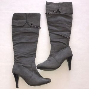Discovery Suede Grey Boots